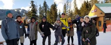 LERSSE Goes Snowshoeing on Cypress Mountain
